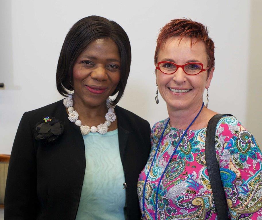 Thuli Madonsela & Liezl Groenewald